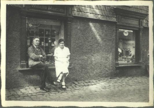 Kaffeerösterei 30er Jahre | Caffee-Rösterei Wilh. Maassen