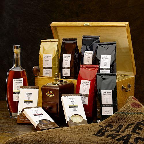 Weihnachtsgeschenke Für Geschäftspartner.Unser Präsentservice Caffee Rösterei Wilh Maassen